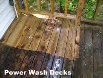 Power Wash Decks