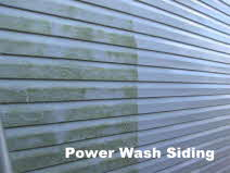 Power Wash Siding