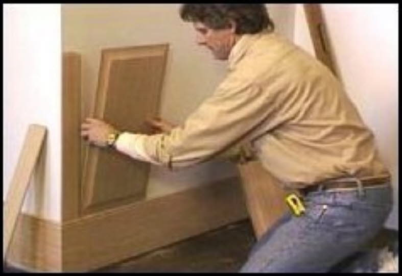 Install Paneling